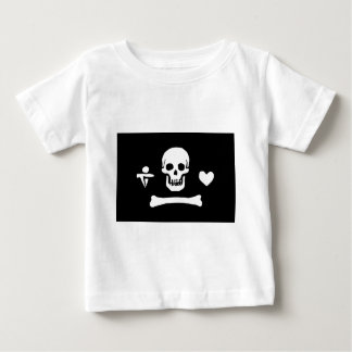 Pirate Flag of Stede Bonnet Baby T-Shirt