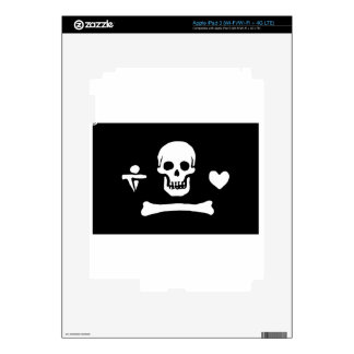Pirate Flag Of Stede Bonnet iPad 3 Skin