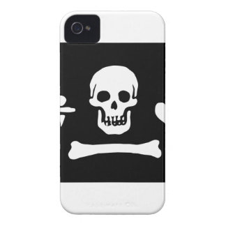 Pirate Flag Of Stede Bonnet iPhone 4 Case-Mate Cases