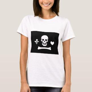 Pirate Flag of Stede Bonnet T-Shirt