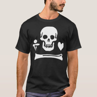 Pirate flag of Stede Bonnet T-Shirt