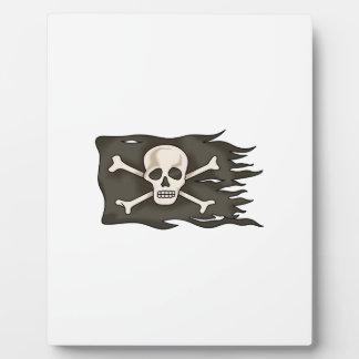 PIRATE FLAG PLAQUE