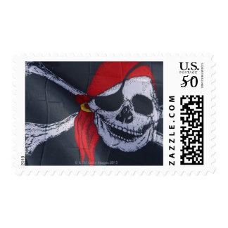 Pirate flag postage