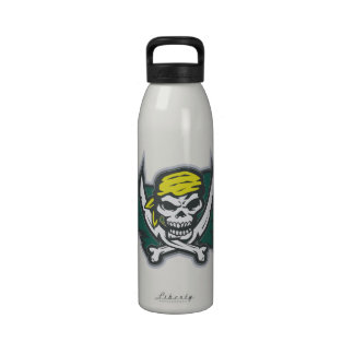 Pirate Flag Reusable Water Bottles