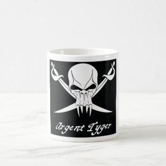pirate flag scan coffee mug