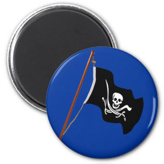 Pirate Flag Scull and Crossed Swords Magnet
