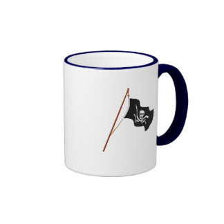 Pirate Flag Scull and Crossed Swords Mug