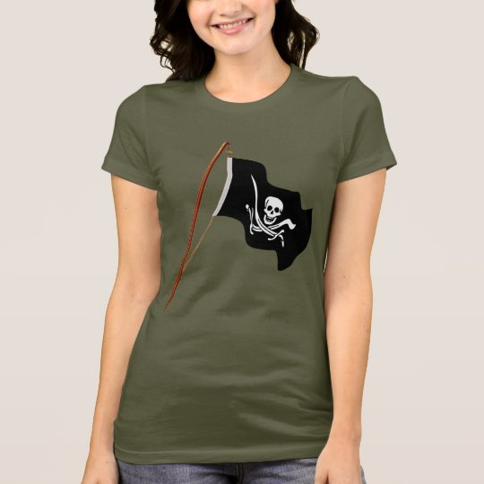 Pirate Flag Scull and Crossed Swords T-Shirt