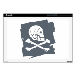 """PIRATE_FLAG SKIN FOR 17"""" LAPTOP"""