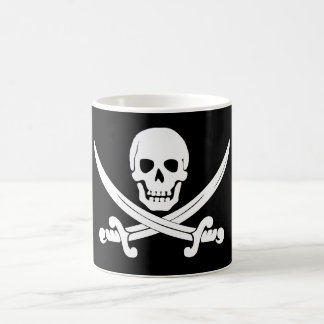 Pirate Flag Skull and Crossbones Jolly Roger Gift Coffee Mug
