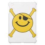 Pirate flag Smiley iPad Mini Cases