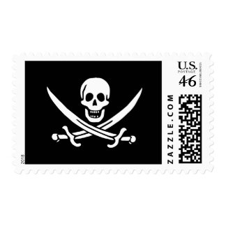 Pirate Flag Stamp