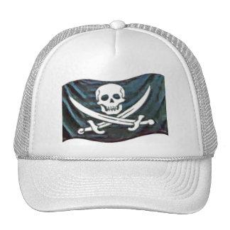 Pirate-Flag Trucker Hat