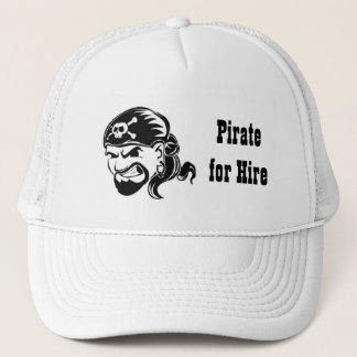 Pirate for Hire Trucker Hat