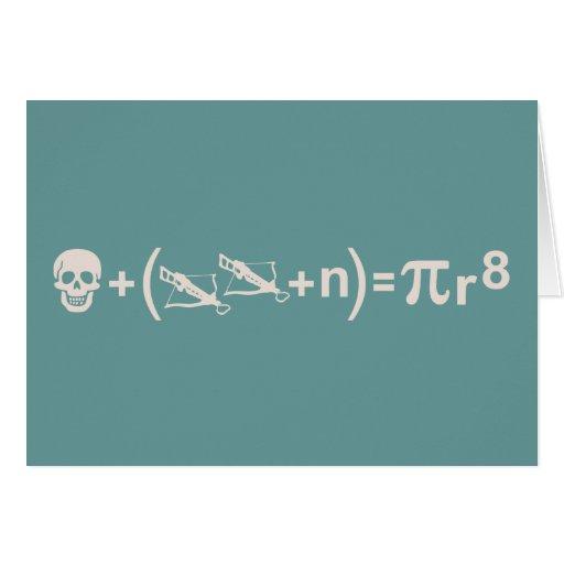 Pirate Formula Card