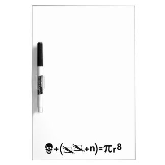 Pirate Formula Dry-Erase Whiteboard