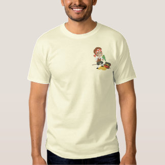 Pirate Fun 2 Embroidered T-Shirt