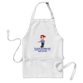 Pirate Fun and Games Adult Apron
