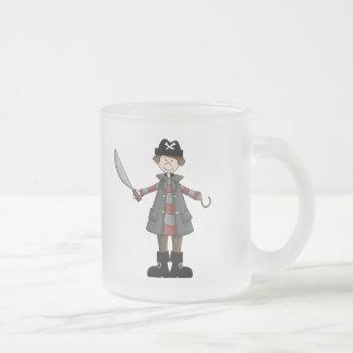 Pirate Fun Frosted Glass Coffee Mug
