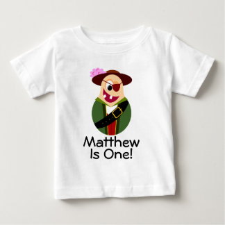 Pirate Funny 1st Birthday Personalized T-shirt