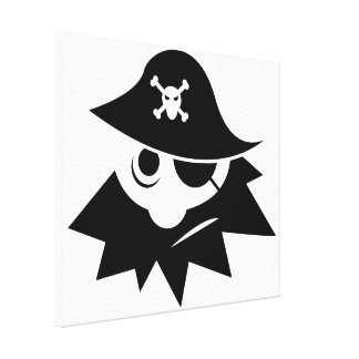 Pirate Gallery Wrap Canvas