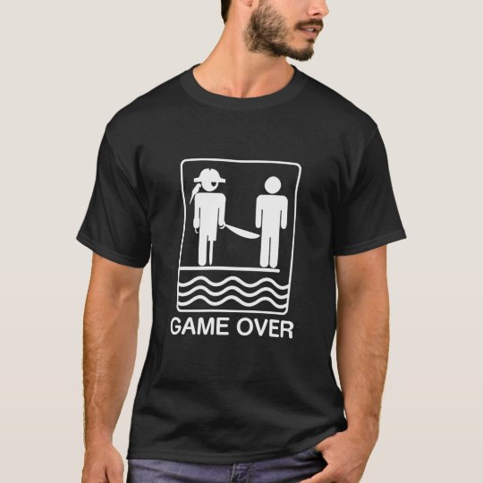 Pirate GAME OVER - t-shirt
