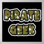 Pirate Geek Poster