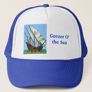 Pirate Geezer O' the Sea Trucker Hat