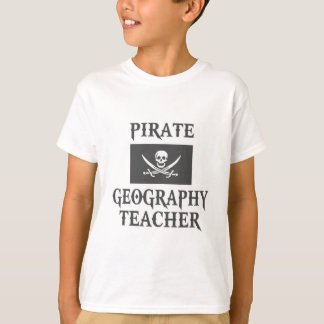 Pirate Geography Teacher T-Shirt