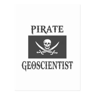 Pirate Geoscientist Postcard