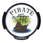 Pirate Ghost Ship LED Car Window Decal