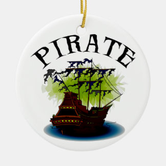 Pirate Ghost Ship Ornament