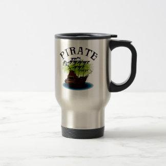 Pirate Ghost Ship Travel Mug