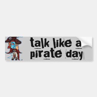 Pirate Gifts Car Bumper Sticker