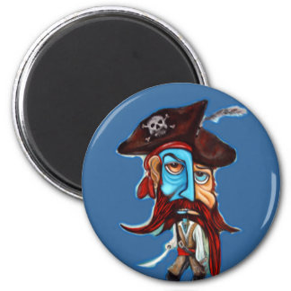 Pirate Gifts 2 Inch Round Magnet