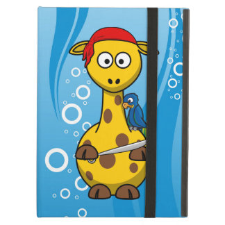 Pirate Giraffe Water Background iPad Air Case
