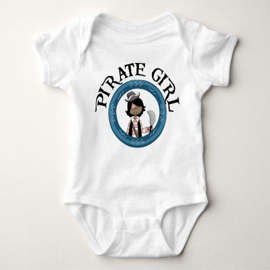 Pirate Girl Baby Bodysuit