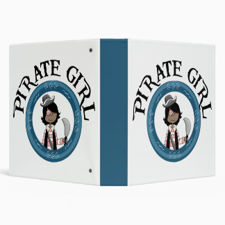Pirate Girl Binder