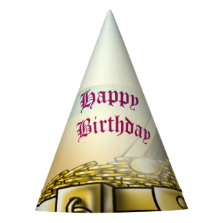Pirate Girl Birthday Party Hat