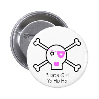 Pirate Girl Pins