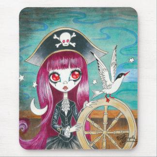 "Pirate Girl : ""Hilda"" Mouse Pad"