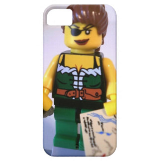 Pirate Girl Minifig with Treasure Map iPhone SE/5/5s Case