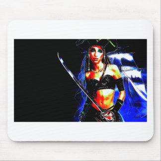 Pirate Girl Mouse Pad