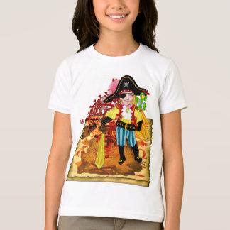 Pirate girl photo t-shirt