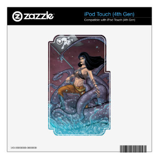 Pirate Girl Skins For iPod Touch 4G