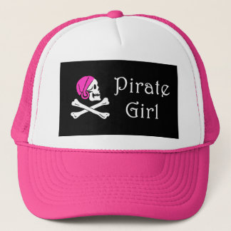 Pirate Girl Trucker Hat