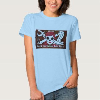 Pirate girls t-shirt