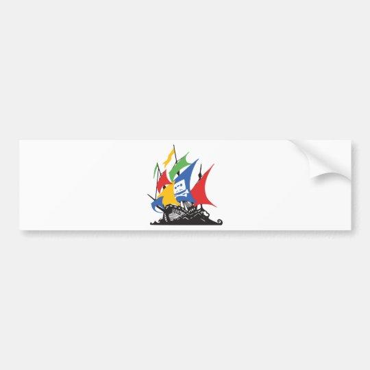 Pirate Google Bumper Sticker