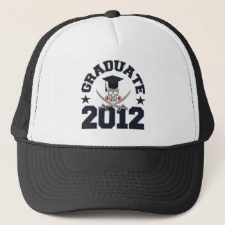 Pirate Graduate 2012 hat - choose color
