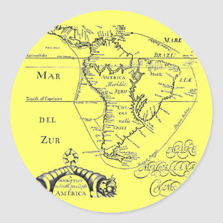 Pirate Graphis Classic Round Sticker